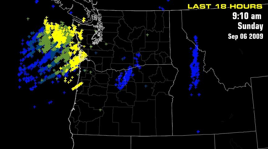 Lots of Lightning   FOX 12 Weather Blog