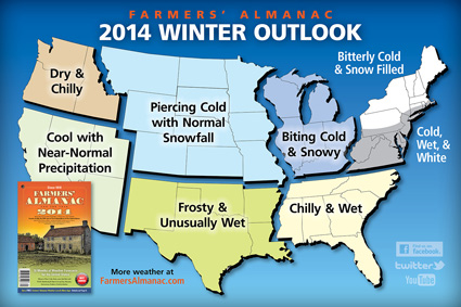 Old farmers almanac winter forecast fox 12 weather blog the forecast itself is utterly worthless several studies have shown that i did my own on 3 winter forecasts from the late 1990s to 2000 sciox Images