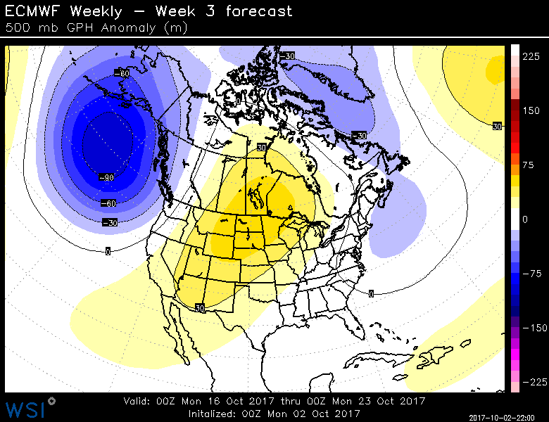 And Here Is The Corresponding Weekly Precipitation Anomaly Drier Than Normal Is Brownish For Next Week