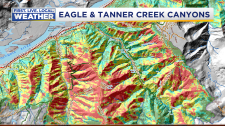 Fire Eagle Creek Soil Damage Maps3
