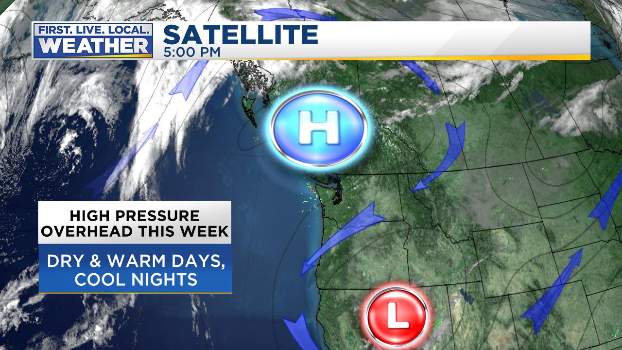 FOX Weather Blog Portland Oregon And Southwest Washington - Us map number of days of sunshine