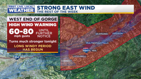 Warnings Gorge and Metro East Wind2