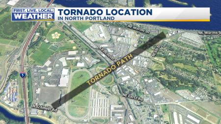 Tornado Ground Track