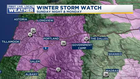 Mark Warnings Winter Weather Lowlands