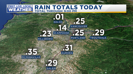 Rain Metro Today Databound